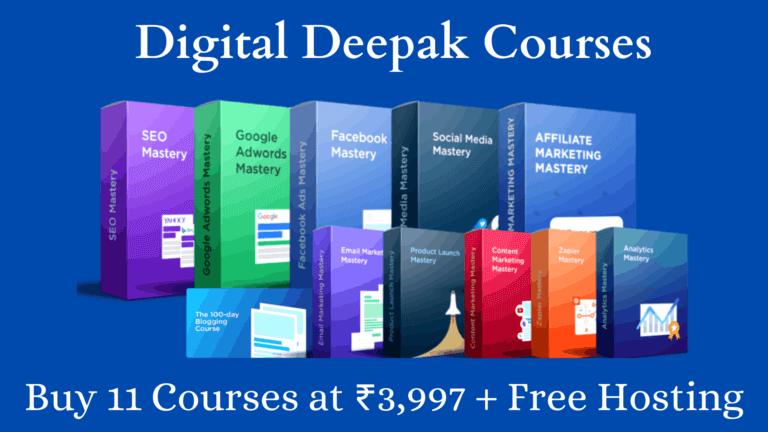 Digital Deepak Courses