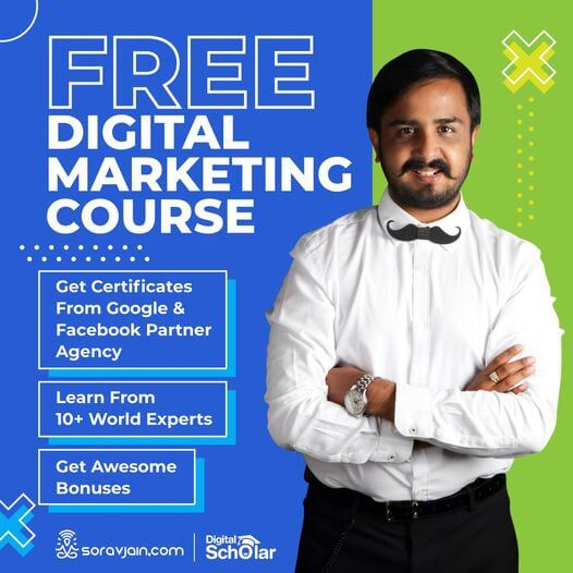 free course by sorav jain giveaway