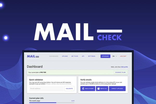 mailcheck appsumo